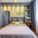 Интерьер спальни 14 кв. м. в современном стиле - Фото
