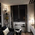 В гостиной нет центрального светильника, вместо этого используются точечные - Фото