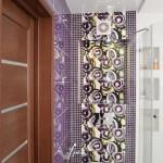 Сиреневый цвет в интерьере ванной комнаты, совмещенной с туалетом 5 - 6 кв. м.