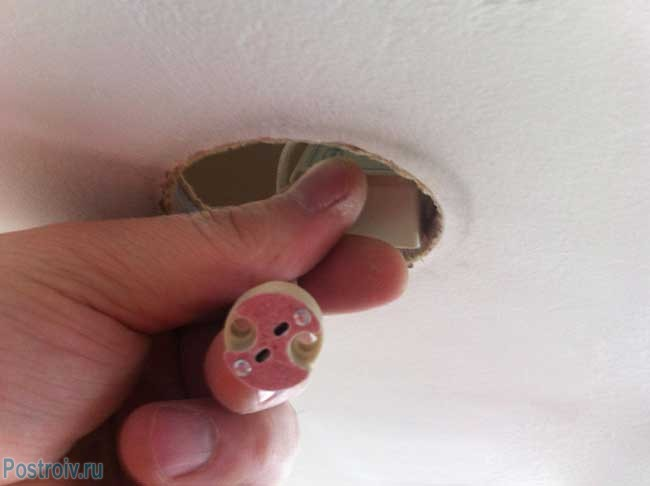 Подключаем точечный светильник своими руками - Фото