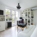 Дизайн квартиры 30-35 кв. м. Делаем из однокомнатной двухкомнатную квартиру с отдельной спальней