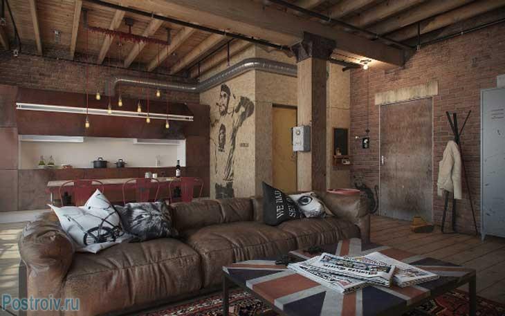Мебель в стиле лофт. Фото 2