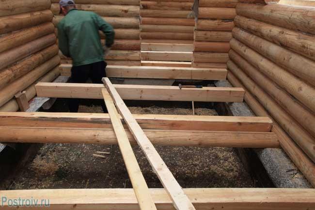 Утепление пола в деревянном доме своими руками - Фото
