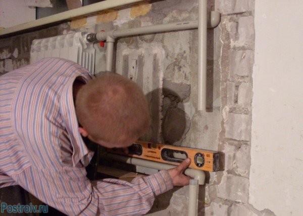 Замена труб отопления в квартире - Фото 1