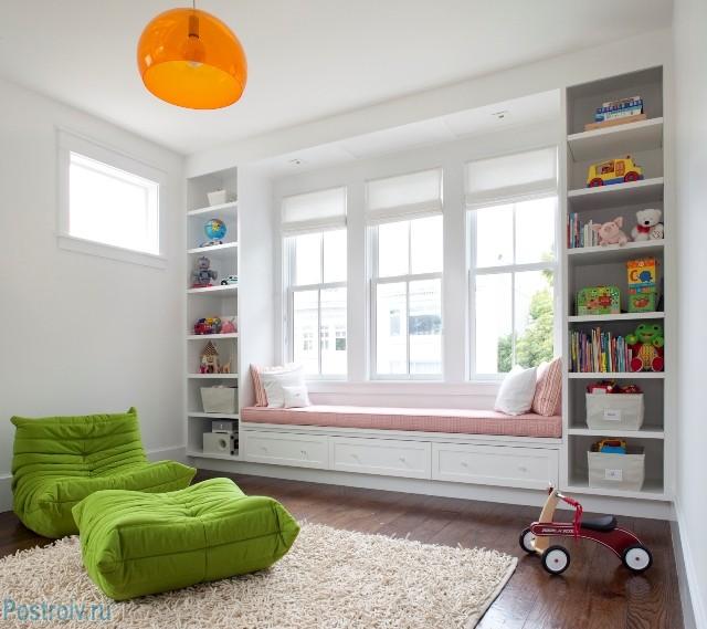 Подоконник-диванчик для детской - Фото 29