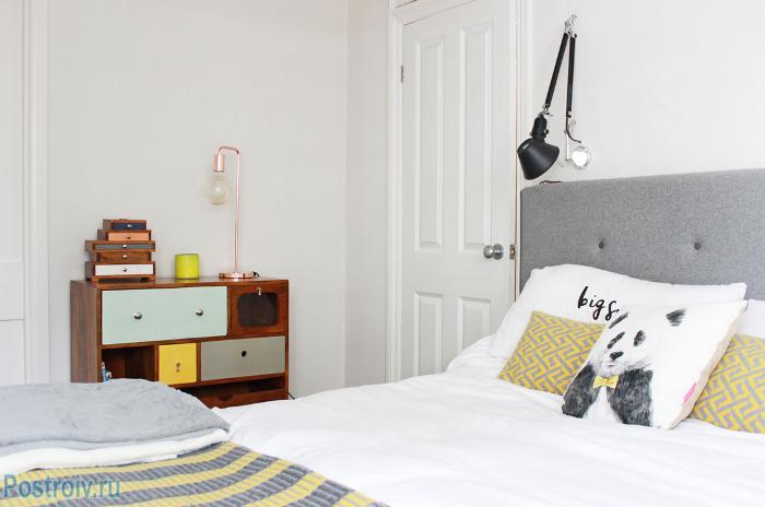 Интерьер спальни в скандинавском стиле - Фото 16