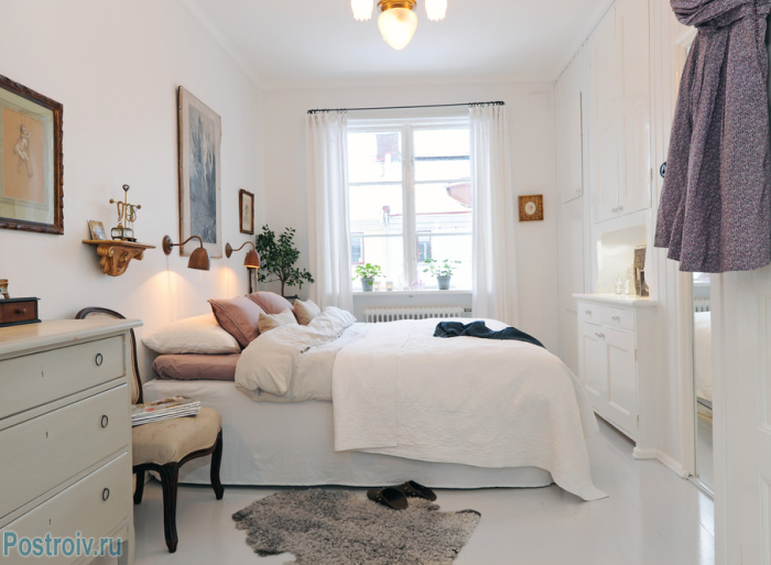 Декор интерьера спальни - Фото 20