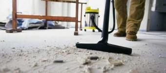 Строительная пыль: препятствуем ее проникновению и проводим уборку после ремонта