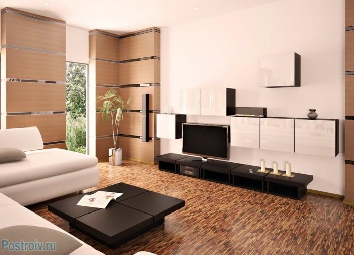 В небольшой гостиной не должно быть нагромождения мебели - Фото 11