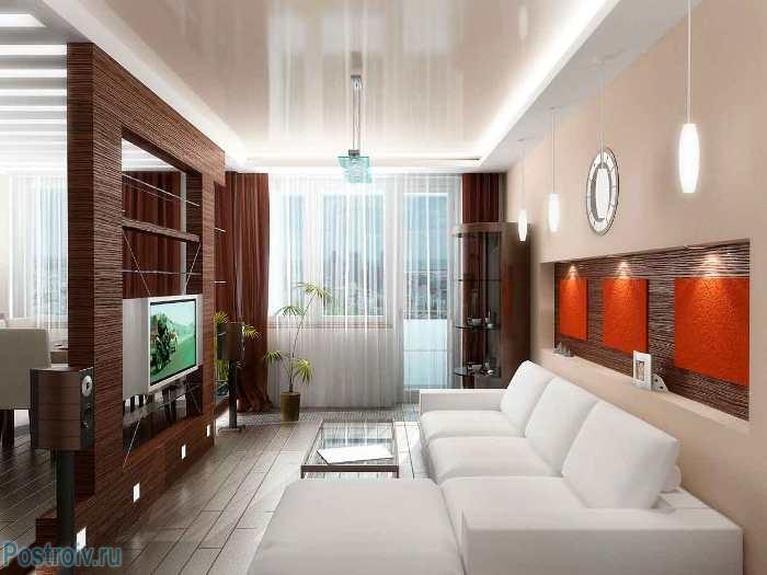 Мебель в интерьере гостиной - Фото 14