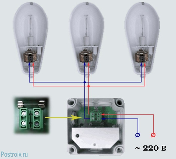 Схема подключения фотореле к линии освещения - Фото 10