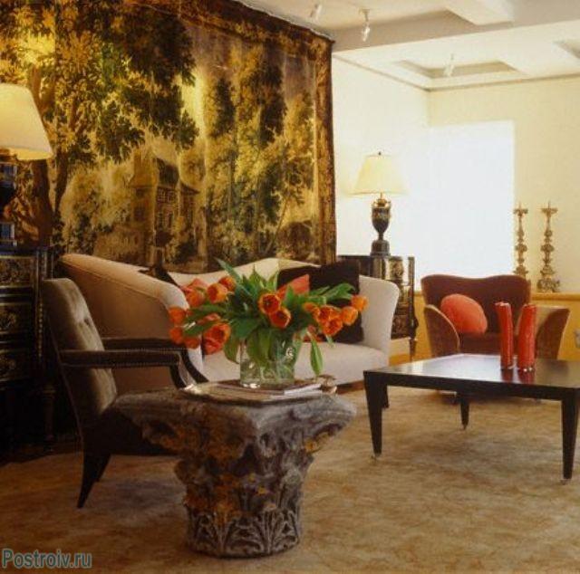 Шелковый ковер на стену - Фото 15