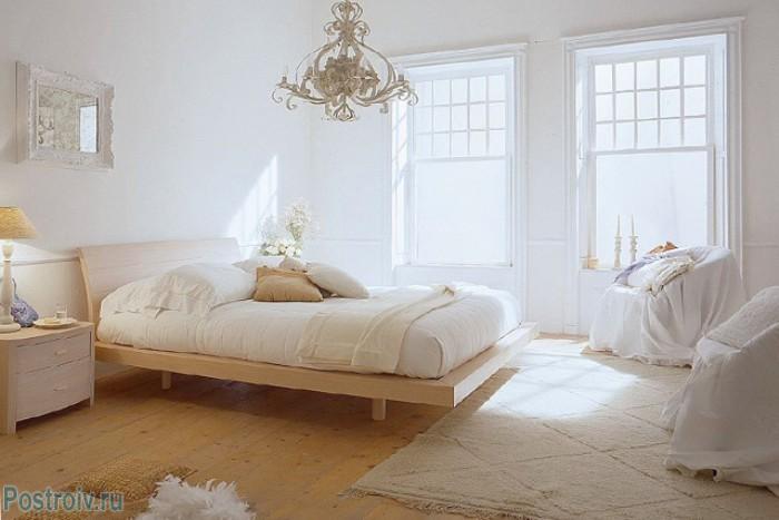 Скандинавский интерьер в спальне - Фото 06