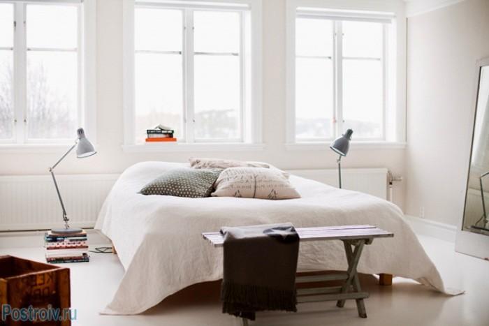Светильники в скандинавской спальне - Фото 13