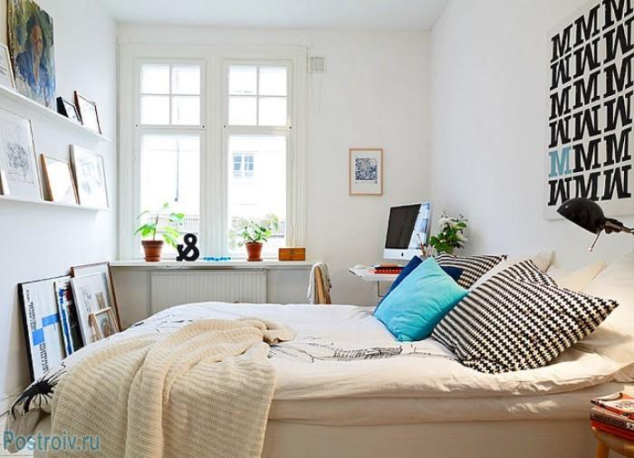 Мебель в скандинавской спальне - Фото 10