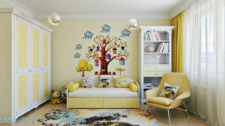 Дизайн детского интерьера. Фото