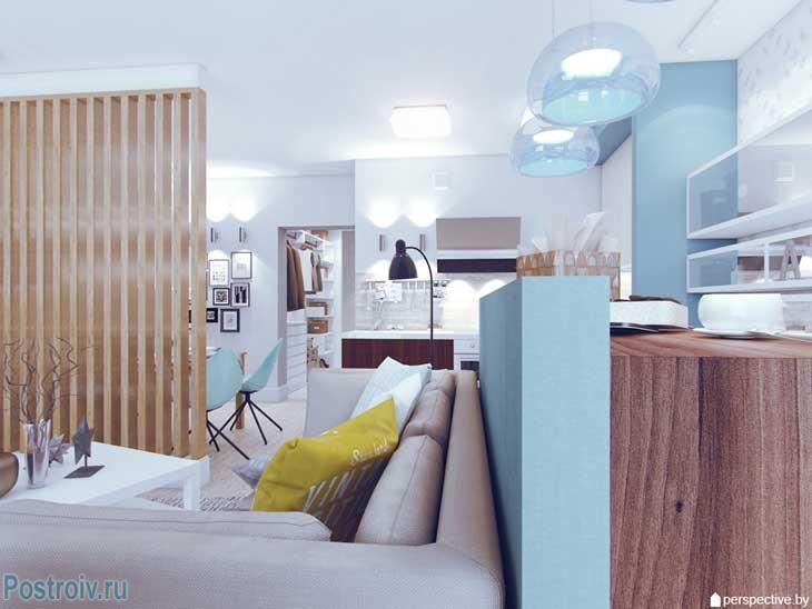 Стильный интерьер 3 комнатной квартиры 2015. Фото