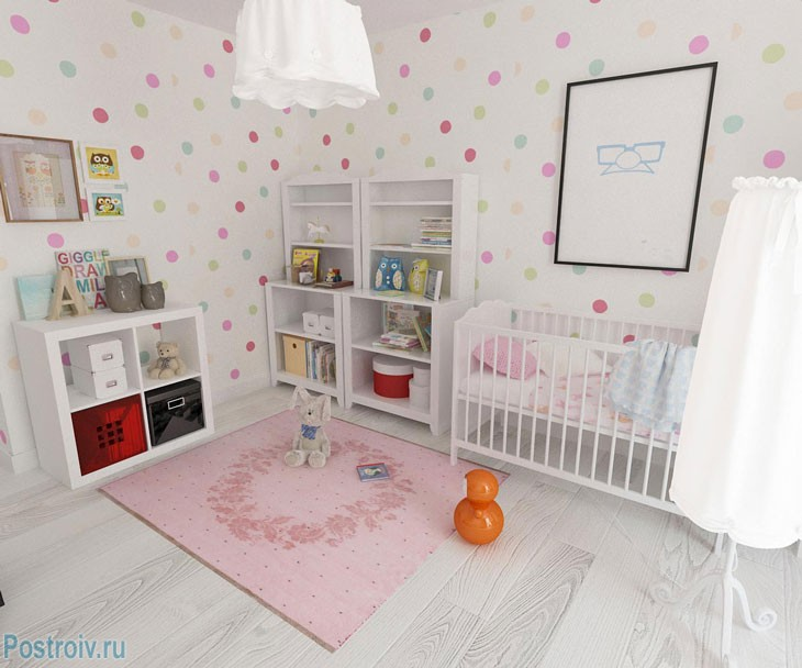 Планировка двухкомнатной квартиры с детской комнатой. Фото