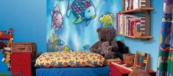 Фотообои в детской комнате. Один из лучших вариантов отделки стен