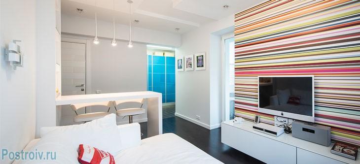 Перепланировка 2 комнатной квартиры с проходными комнатами. Фото
