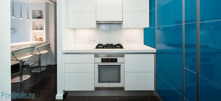 Перепланировка кухни. Фото
