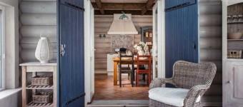 Очаровательный дизайн интерьера загородного дома. Естественность и простота, главные отличия этого интерьера