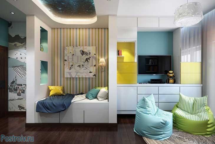 Красивая детская комната. Фото