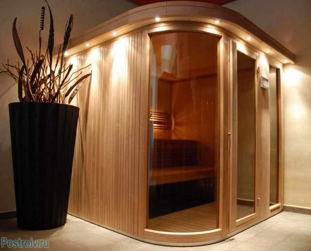 Конструкция сауны для квартир - Фото 04