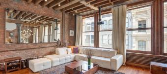 Балки на потолке - оригинальное дизайнерское решение. Фото примеры