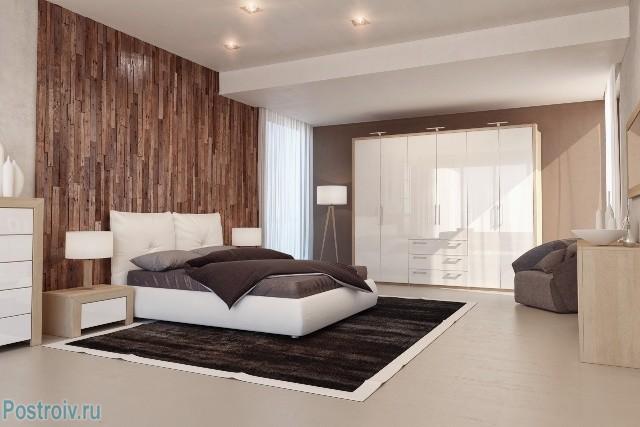Современная спальня в стиле модерн - Фото 14