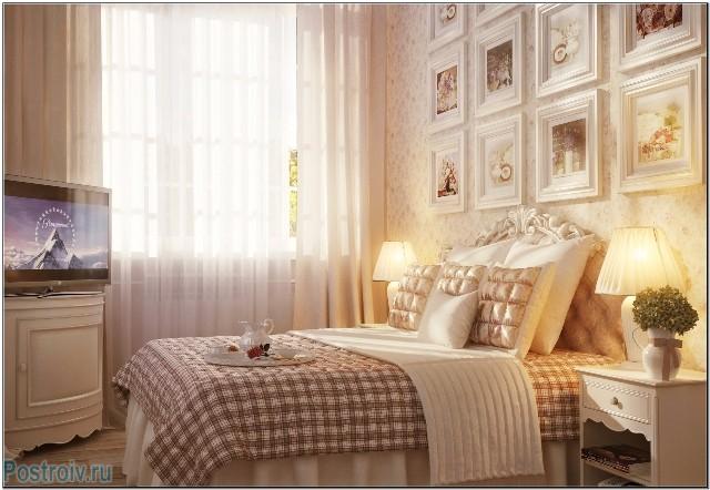 Французский прованс в интерьере спальной комнаты - Фото 11