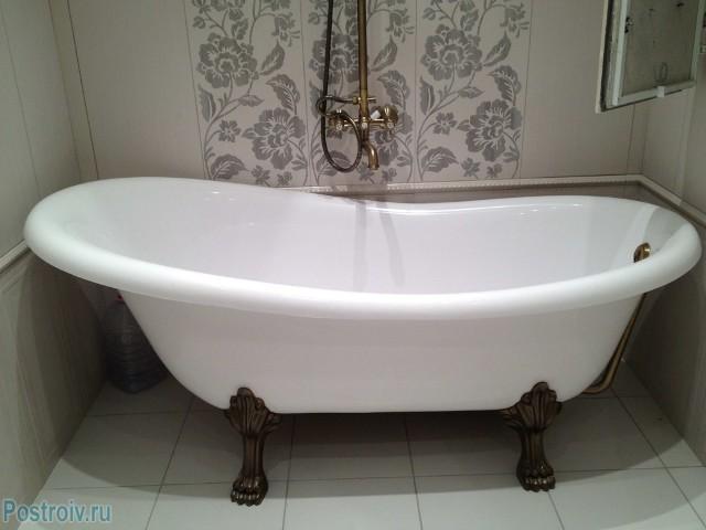 Чугунная ванна - Фото 03