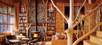 Оформление интерьера дома с применением дерева. Интерьер деревянного дома внутри