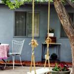 Качели для дачи своими руками: деревянные, металлические и из покрышки. Подробная инструкция