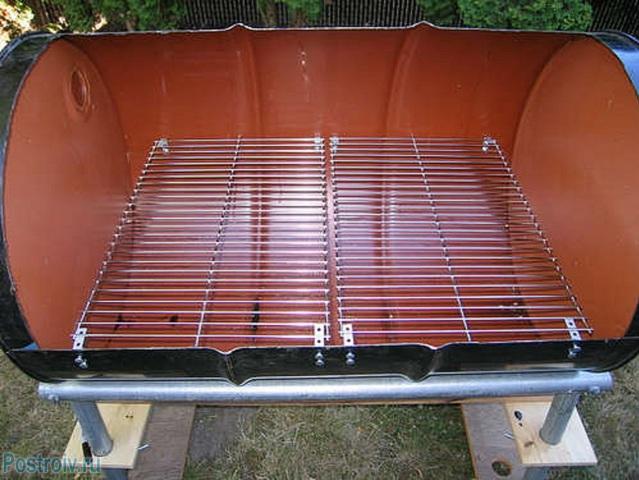Укладка металлической решетки - Фото 55