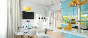 Кухни с эркером: место, где круглый год живет лето