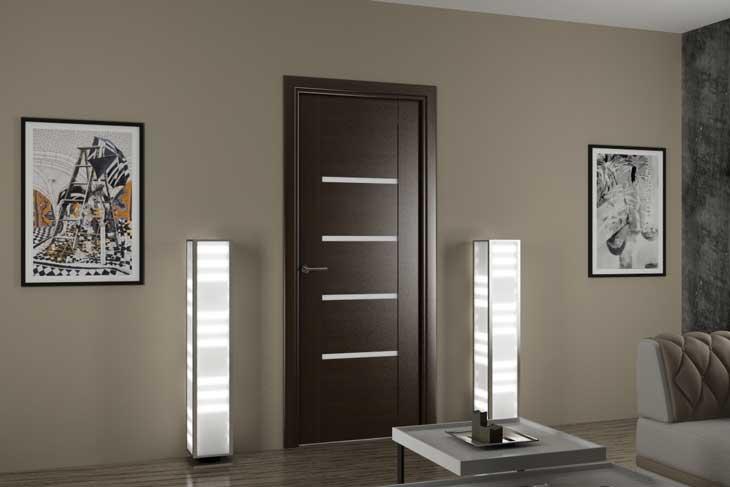 Красивые и функциональные двери для комнаты