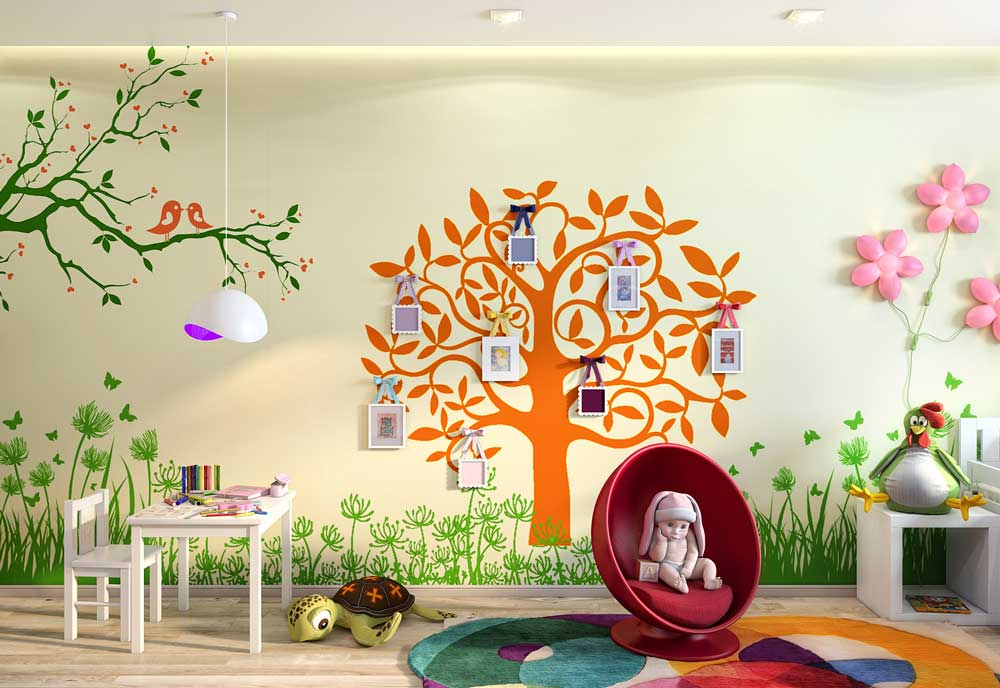 дизайн детской комнаты для девочки фото новинки 2019