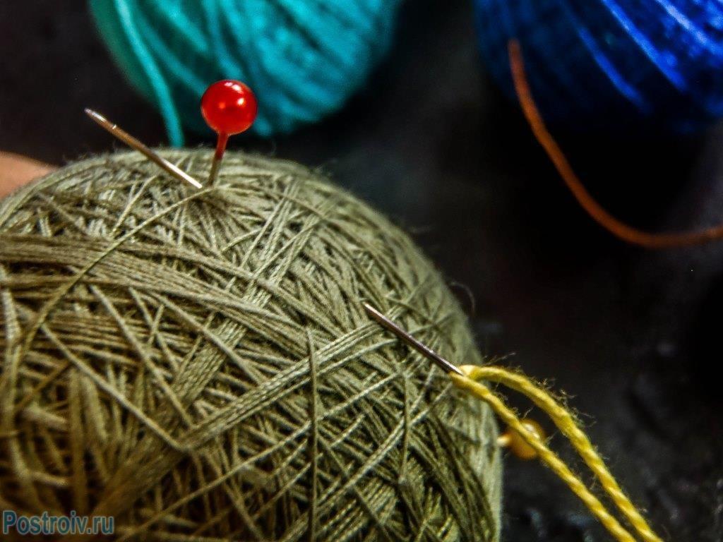 Как сделать шар на елку своими руками из ниток. Мастер-класс