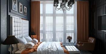 Дизайн спальни 16 кв. метров. Фото красивых спален