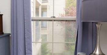 Как сшить теплые шторы на окна своими руками