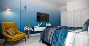 Дизайн интерьера спальни 18 кв. метров. Два отличных варианта 2019 года