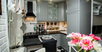 Квартира в стиле прованс - фото двух интерьеров квартир.