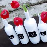 Поделки из пластиковых и стеклянных бутылок для дачи. Фото мастер-классы