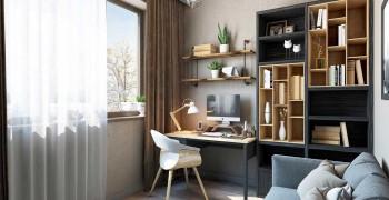Рабочее место дома. Фото стильных и современных идей