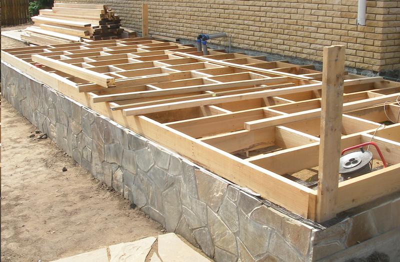 Строительство-веранды-фундамент-и-пол