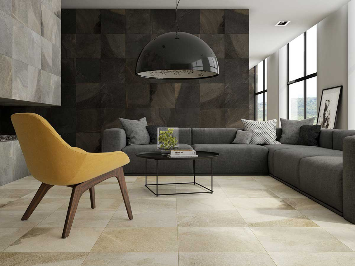 black-stone-accent-wall