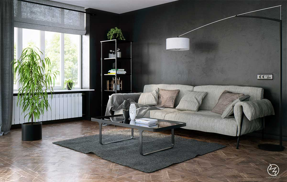 chic-black-interior-theme