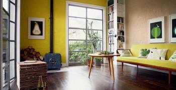 Желтая гостиная. Фото проектов, которые вам понравятся