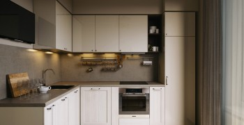 Дизайн кухни 8 кв. метров. Фото подборка лучших проектов (70 фото)